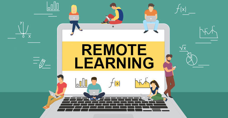 Remote Learning Page